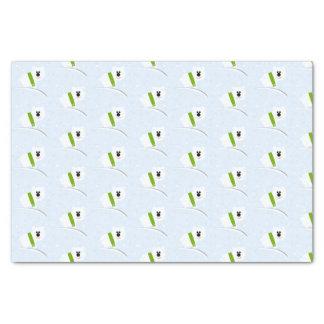Baby-Eisbär-Seidenpapier Seidenpapier