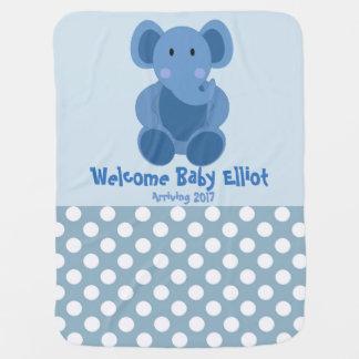 Baby-Elefant-Decke Babydecken