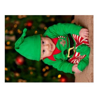 Baby-Elf Postkarte