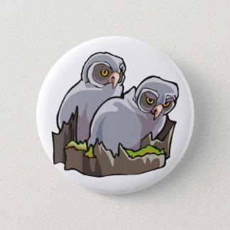 Baby-Eulen Runder Button 5,7 Cm