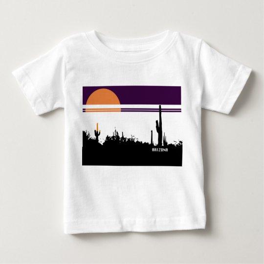 Baby-feiner Jersey-T - Shirt AZ POSTKARTEN-ENTWURF