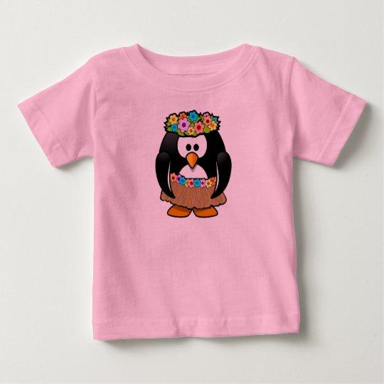 Baby-feiner rosa Jersey-T - Shirt