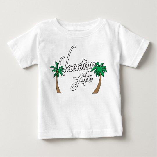 Baby-Ferien-T-Stück 2 Baby T-shirt