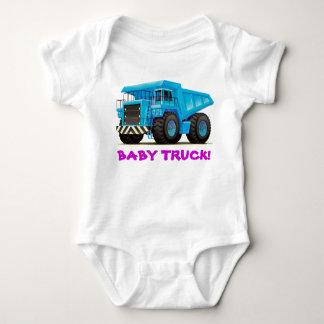 Baby-Fernlastfahrer-blauer Kipper Baby Strampler