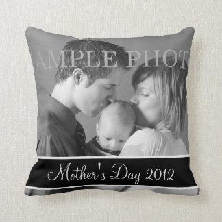 Baby-Foto-Andenken-Kissen 2012 der Mutter Tages Kissen