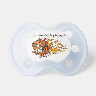 Baby-Friedensstifter zukünftiger NBA Spieler Baby Schnuller