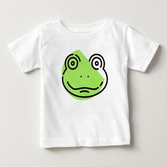 Baby-Frosch-Druck-T - Shirt