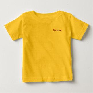 Baby-Geldstrafe-Jersey-T - Shirt Richard gelber