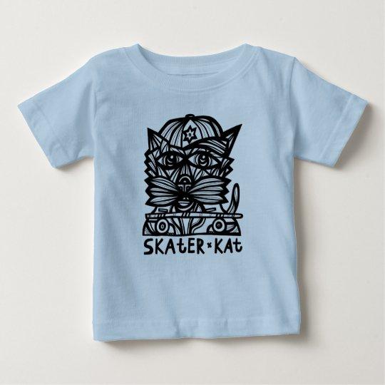 "Baby-Geldstrafe-Jersey-T - Shirt ""SkaterKat"""