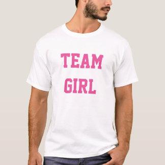 Baby-Geschlecht decken Party-Shirt-Team-Mädchen T-Shirt