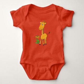 Baby-Giraffe Baby Strampler