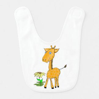 Baby-Giraffenbaby Schellfisch Lätzchen