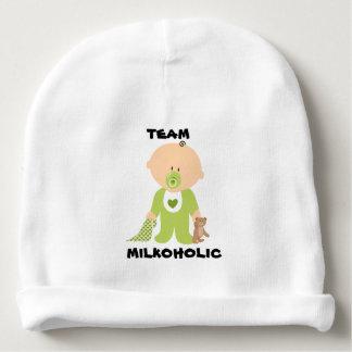 Baby-Hut, Team Milkoholic Jungen-Entwurf Babymütze