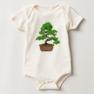Baby-japanischer Bonsais-Baum-Bio Bodysuit Baby Strampler