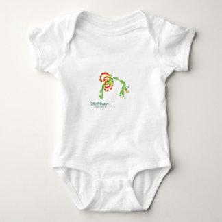 (Baby-Jersey-Bodysuit der Rad-Lage-I) Baby Strampler