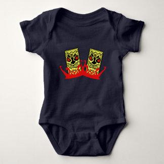 Baby-Jersey Bodysuit-Tiki Freunde Baby Strampler