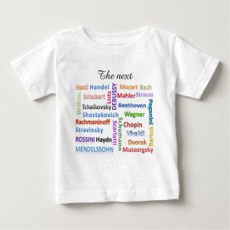 Baby-Jersey-T - Shirt der folgende große