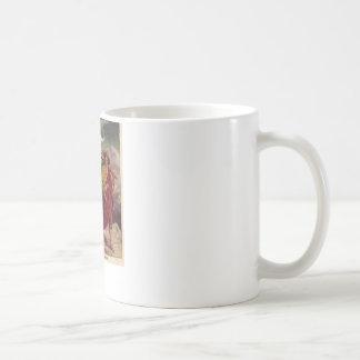 Baby Jesus auf seiner Weise nach Ägypten Kaffeetasse