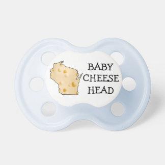 Baby-Junge Cheesehead Wisconsin Schnuller