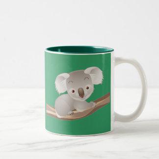 Baby-Koala Zweifarbige Tasse