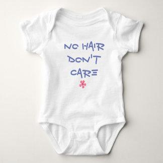Baby-Körper-Anzug - kein Haar interessieren sich Baby Strampler