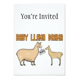 Baby-Lama-Drama Karte