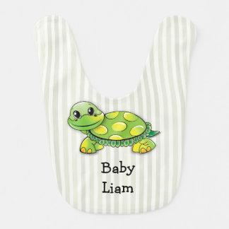 Baby Liam, die niedliche große Schildkröte, Lätzchen