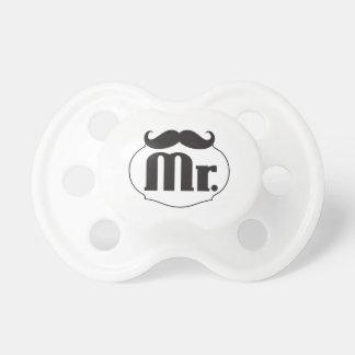 Baby Lil Mann-Herr Mustache Schnuller