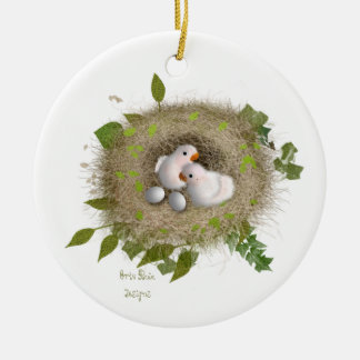 Baby Lovebirds Cristmas Ornaments Keramik Ornament