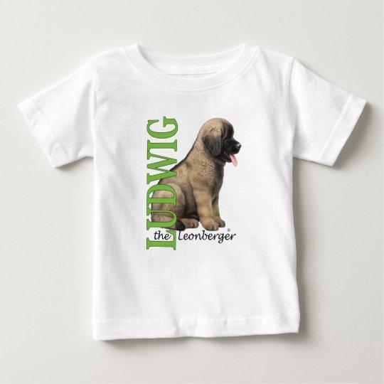 Baby Ludwig der Leonberger Welpen-T - Shirt
