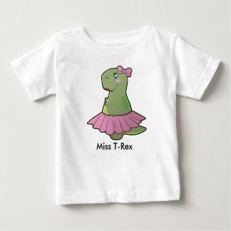 Baby-Mädchen-Dinosaurier-Fräulein T-Rex Shirt