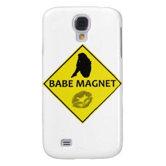 Baby-Magnet-Gelb-Verkehrsschild iPhone Fall Galaxy S4 Hülle