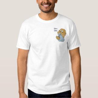 Baby - neuer Vati Besticktes T-Shirt