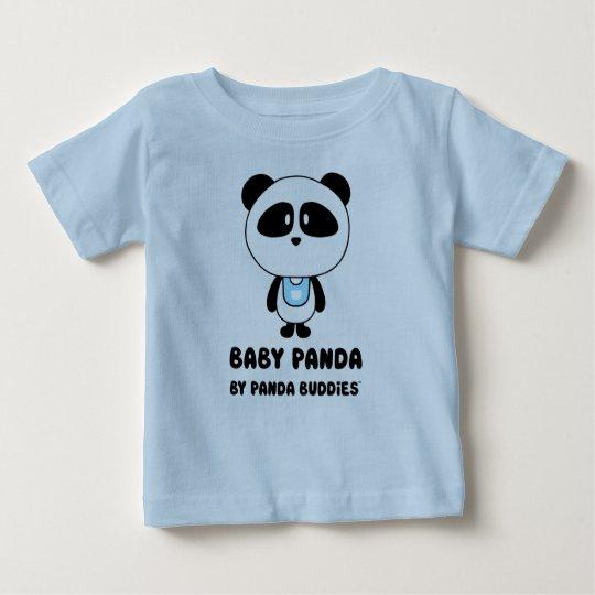 Baby-Panda-Freund-Blau-T - Shirt
