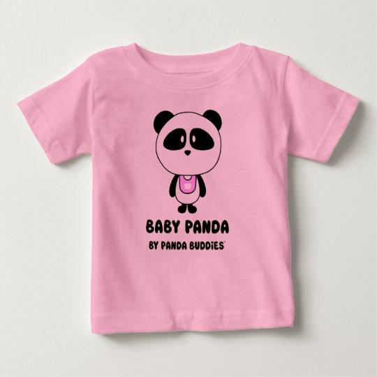 Baby-Panda-Freund-rosa T - Shirt