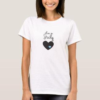 Baby passend im Juli T-Shirt