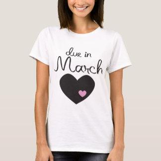 Baby passend im März T-Shirt