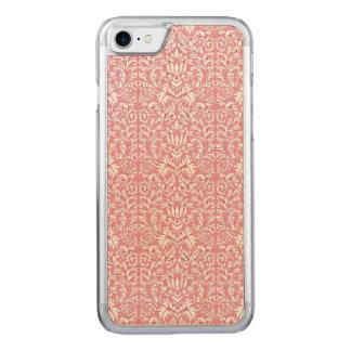 Baby-Rosa Kawaii Damast Carved iPhone 7 Hülle