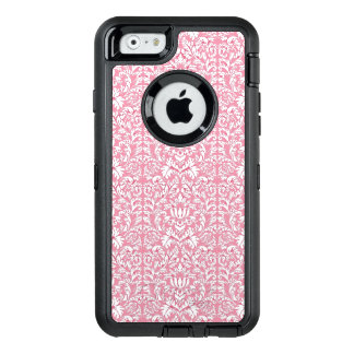 Baby-Rosa Kawaii Damast OtterBox iPhone 6/6s Hülle