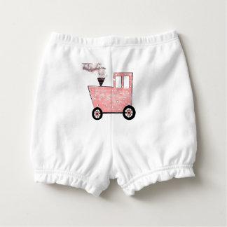 Baby-Rosa-Kombüsen-Zug Baby-Windelhöschen