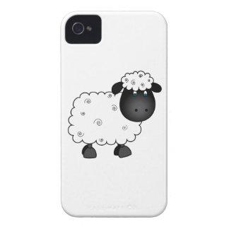 Baby-Schafe für Mutterschaf iPhone 4 Hülle