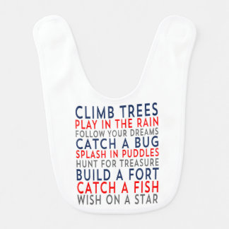 Baby-Schellfisch der Aufstiegs-Baum-01 Lätzchen