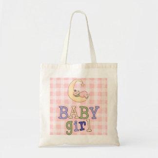 Baby-Schlafenmond-Windel-Tasche Budget Stoffbeutel