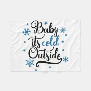 Baby seine kalte Außenseite Fleecedecke