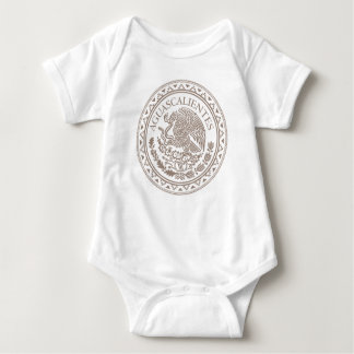 Baby-Shirt Mexikos Aguascalientes Baby Strampler