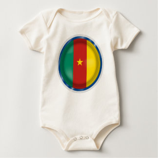 Baby-Shirt sagen, gemacht in Cameroon, Cameroon Baby Strampler