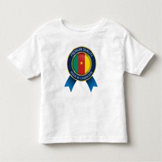 Baby-Shirt sagen, gemacht in Cameroon, Cameroon Kleinkind T-shirt