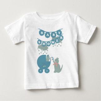 Baby shower boy t-shirt pour bébé