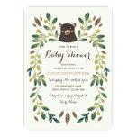 Baby shower de CUB d'ours Carton D'invitation 12,7 Cm X 17,78 Cm
