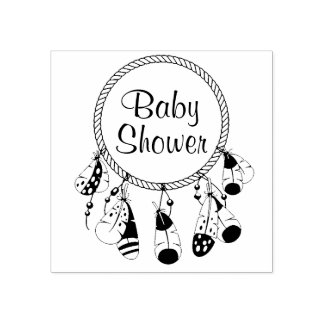 Baby shower tribal de Dreamcatcher Boho